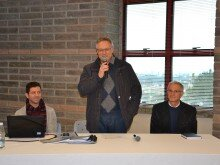 Giovanni Menegazzo, Claudionor Mores e Valdir Farina